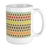 Retro Oval Star Mug