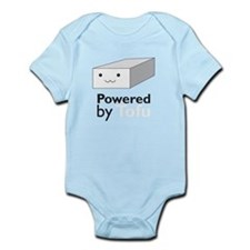 powered by tofu Infant Bodysuit