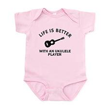 Ukulele designs Infant Bodysuit