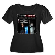 American Big Gulp Liberty Plus Size T-Shirt
