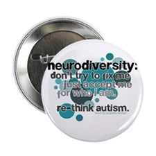 "Neurodiversity 2.25"" Button (100 pack)"