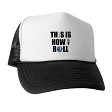 How I Roll Bowling Trucker Hat