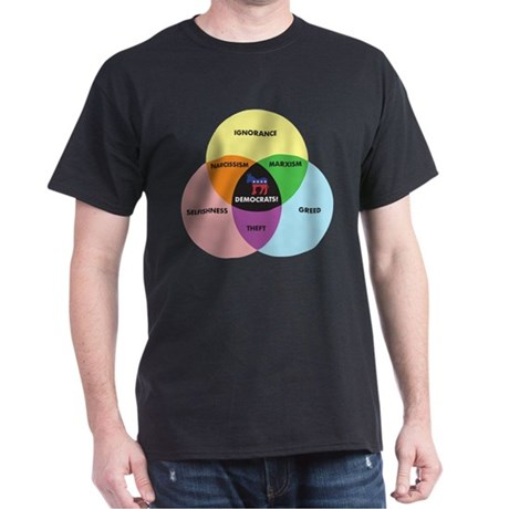 Democrat Venn Diagram T-Shirt