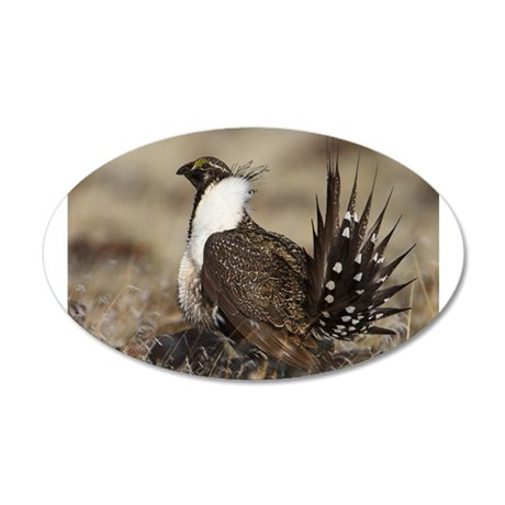 Sage Grouse Strut Wall Decal