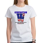 Women's T-Shirt: Generation W<br>(front)