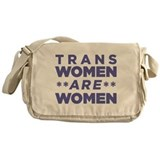 Trans Women Are Women Messenger Bag