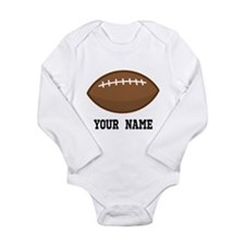 Personalized Football Baby Suit