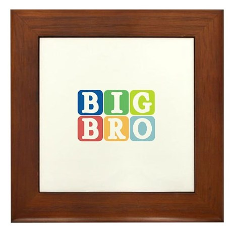 Big Bro Framed Tile