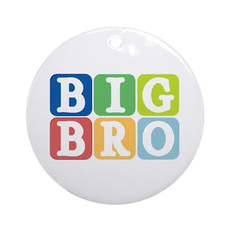Big Bro Ornament (Round)