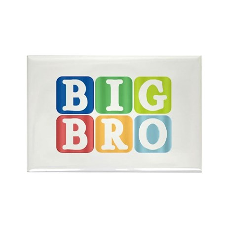 Big Bro Rectangle Magnet