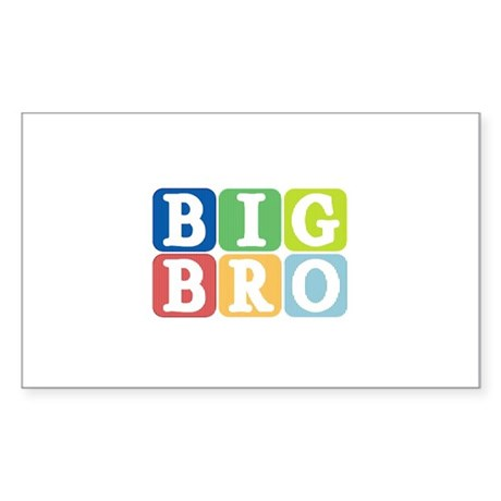 Big Bro Rectangle Sticker