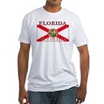 Florida Floridian State Flag Fitted T-Shirt