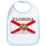 Florida Floridian State Flag Bib