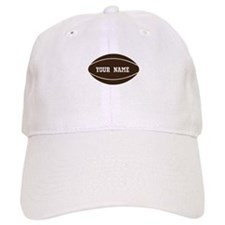 Personalized Rugby Ball Baseball Cap
