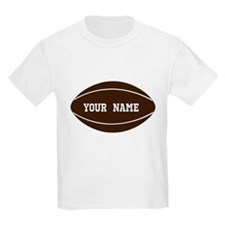 Personalized Rugby Ball T-Shirt