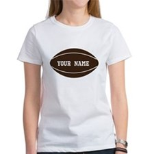 Personalized Rugby Ball Tee