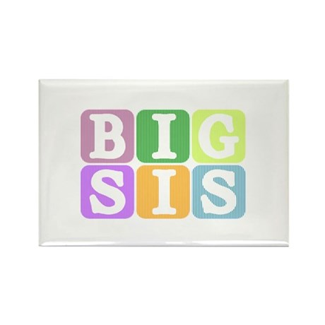 Big Sis Rectangle Magnet
