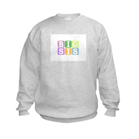 Big Sis Kids Sweatshirt