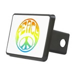 Peace.png Rectangular Hitch Cover