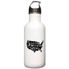 America: All Mixed Up Water Bottle