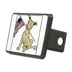 American dog.png Rectangular Hitch Cover