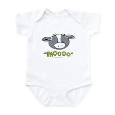 """""""Mooo"""" Cow Infant Bodysuit"""