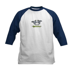 """Mooo"" Cow Kids Baseball Jersey"