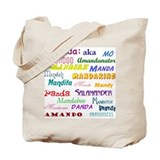 Amanda's Tote Bag with nicknames