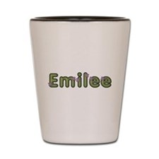 Emilee Spring Green Shot Glass