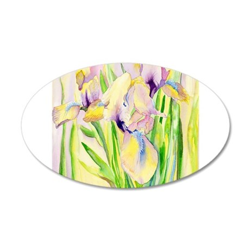 Miniature Gingerbread Iris Wall Decal