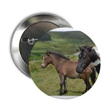 "horses on the moor 2.25"" Button"