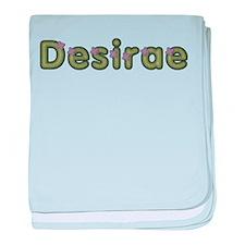 Desirae Spring Green baby blanket