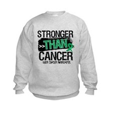 Stronger Than Liver Cancer Sweatshirt