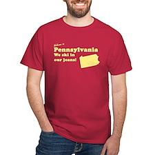 Pennsylvania Red T-Shirt