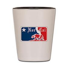 Major League Norcal logo Shot Glass
