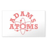 Adams Atoms Rectangle Decal