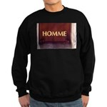 Sweatshirt (dark)Homme/Man in French