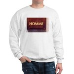 Sweatshirt Homme/Man in French