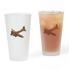 Vintage B-17 Drinking Glass
