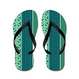 Peace Love Recycle Flip Flops