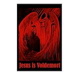 Dark Wizard Jesus is Voldemort Postcards