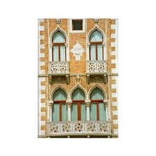 Building in Venice Rectangle Magnet