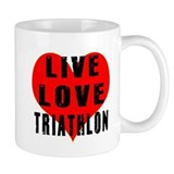 Live Love Triathlon Mug