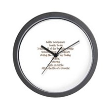 All in the Life of a Newsie Wall Clock