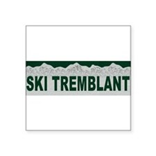 Ski Tremblant, Quebec Rectangle Sticker