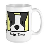 Anime Boston Terrier Coffee Mug