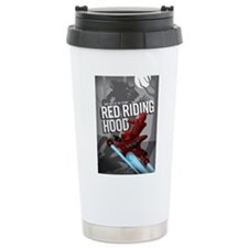 Sci Fi Red Riding Hood Ceramic Travel Mug