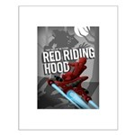 Sci Fi Red Riding Hood Small Poster