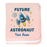 Future Astronaut - Personalized baby blanket