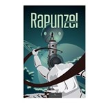Sci Fi Rapunzel Postcards (Package of 8)